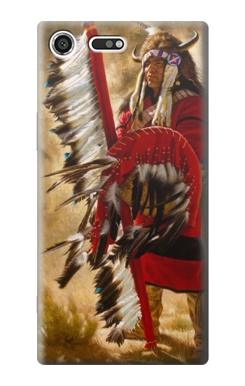 Printed Red Indian Sony Xperia C3 Case