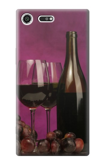 Printed Red Wine Sony Xperia C3 Case