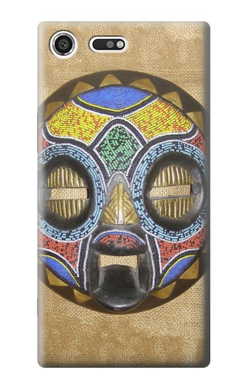 Printed African Baluba Mask Sony Xperia C3 Case