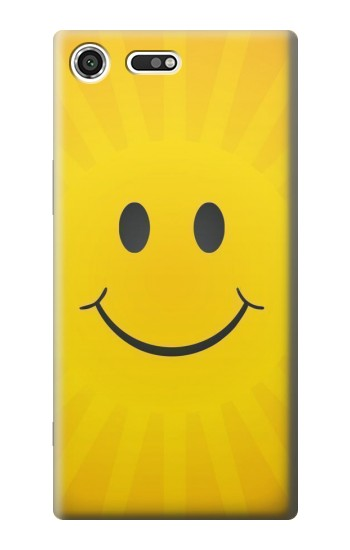 Printed Yellow Sun Smile Sony Xperia C3 Case