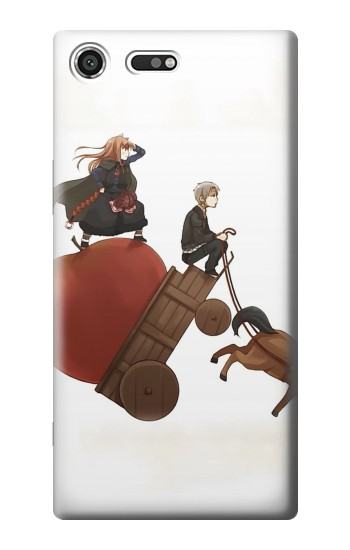 Printed Spice and Wolf Horo Lawrence Sony Xperia C3 Case