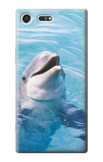 Printed Dolphin Sony Xperia C3 Case