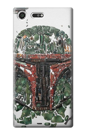 Printed Star War Soldier Sony Xperia C3 Case