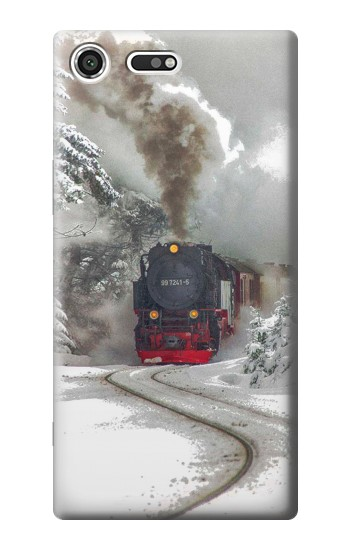 Printed Steam Train Sony Xperia C3 Case