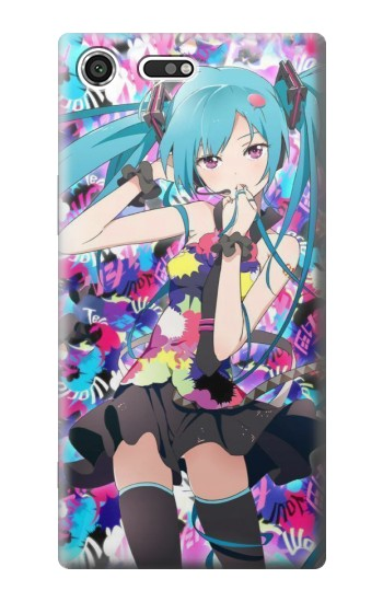 Printed Vocaloid Hatsune Miku Tell Your World Sony Xperia C3 Case