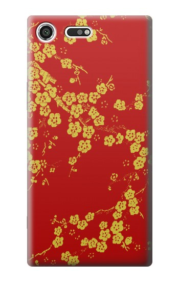 Printed Cherry Blossoms Chinese Silk Graphic Printed Sony Xperia C3 Case