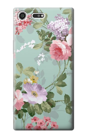 Printed Flower Floral Art Painting Sony Xperia C3 Case