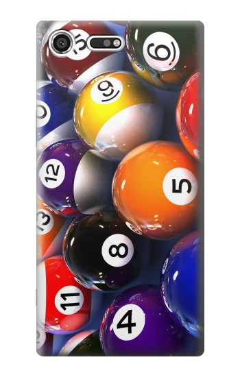 Printed Billiard Pool Ball Sony Xperia C3 Case