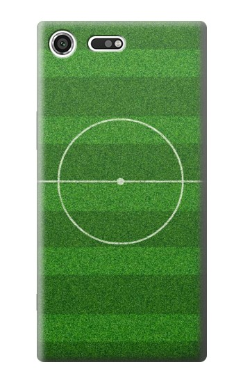 Printed Football Soccer Field Sony Xperia C3 Case