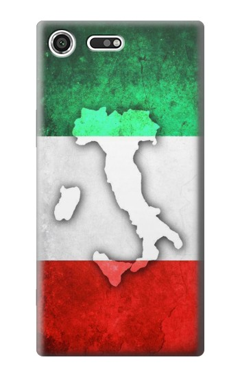 Printed Italy Flag Sony Xperia C3 Case