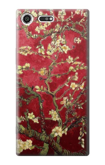 Printed Red Blossoming Almond Tree Van Gogh Sony Xperia C3 Case
