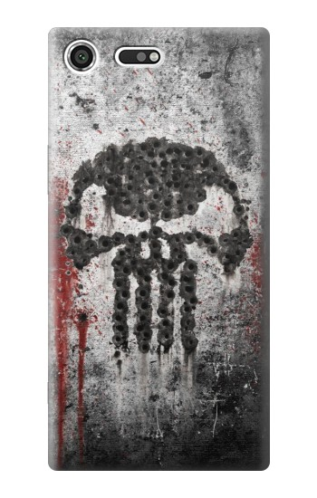 Printed Punisher Sony Xperia C3 Case