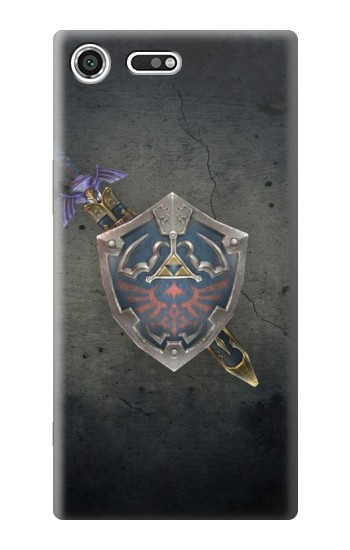 Printed Legend of Zelda Shield Sony Xperia C3 Case