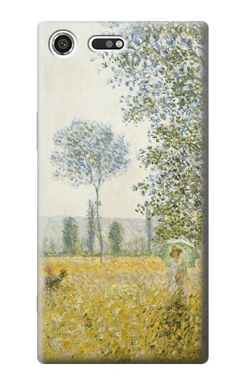 Printed Claude Monet Fields In Spring Sony Xperia C3 Case