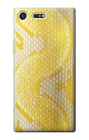 Printed Yellow Snake Skin Sony Xperia C3 Case