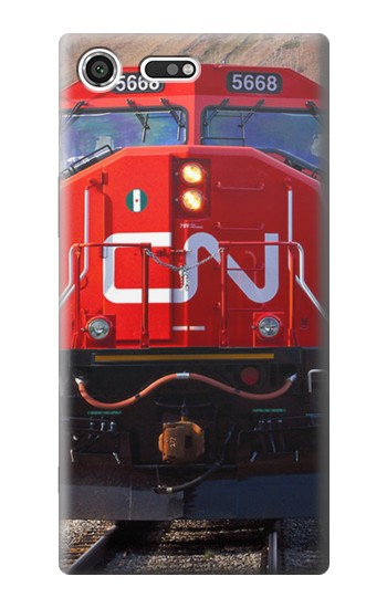 Printed Train Canadian National Railway Sony Xperia C3 Case