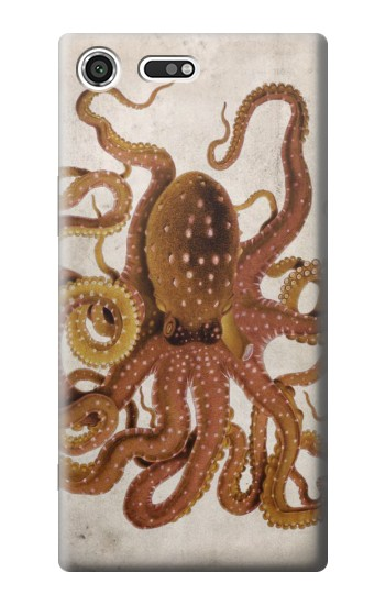 Printed Vintage Octopus Sony Xperia C3 Case