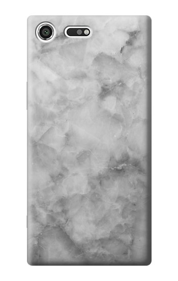 Printed Gray Marble Texture Sony Xperia C3 Case