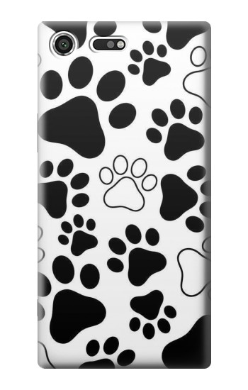 Printed Dog Paw Prints Sony Xperia C3 Case