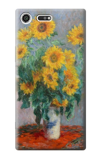 Printed Claude Monet Bouquet of Sunflowers Sony Xperia C3 Case