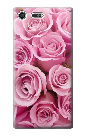 Printed Pink Rose Sony Xperia C3 Case