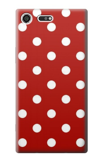 Printed Red Polka Dots Sony Xperia C3 Case