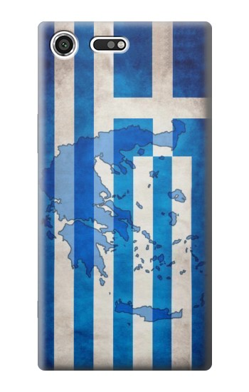 Printed Greece Map Flag Sony Xperia C3 Case