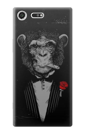 Printed Funny Monkey God Father Sony Xperia C3 Case