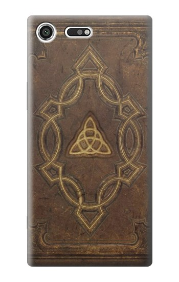 Printed Spell Book Cover Sony Xperia C3 Case