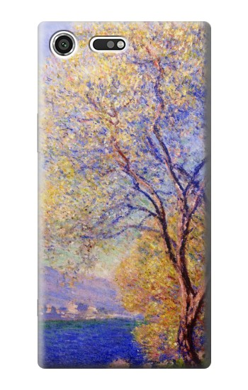 Printed Claude Monet Antibes Seen from the Salis Gardens Sony Xperia C3 Case
