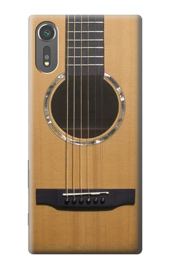 Printed Acoustic Guitar Sony Xperia C5 Ultra Case