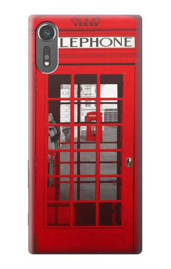 Printed Classic British Red Telephone Box Sony Xperia C5 Ultra Case