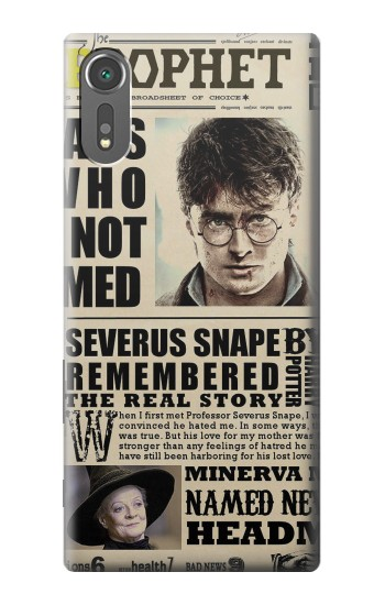 Printed Harry Potter Daily Prophet Sony Xperia C5 Ultra Case