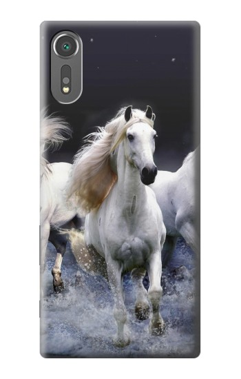 Printed White Horse Sony Xperia C5 Ultra Case