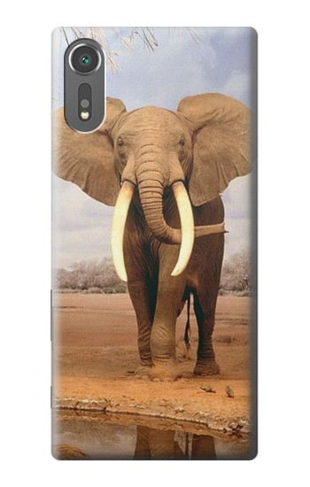 Printed African Elephant Sony Xperia C5 Ultra Case