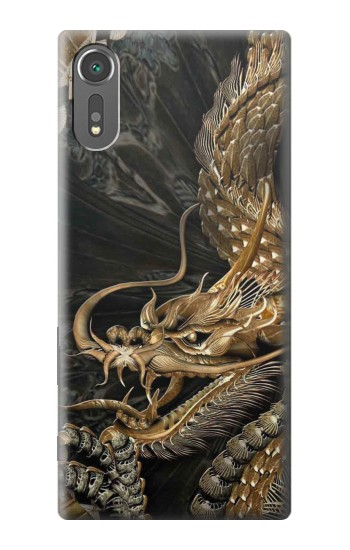 Printed Gold Dragon Sony Xperia C5 Ultra Case