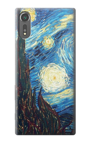 Printed Van Gogh Starry Nights Sony Xperia C5 Ultra Case