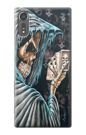 Printed Grim Reaper Death Poker Sony Xperia C5 Ultra Case