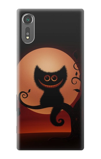 Printed Halloween Cat Sony Xperia C5 Ultra Case