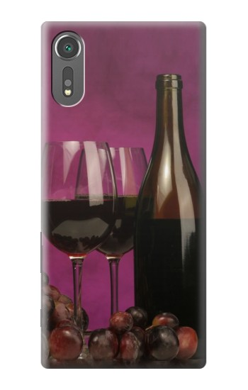 Printed Red Wine Sony Xperia C5 Ultra Case