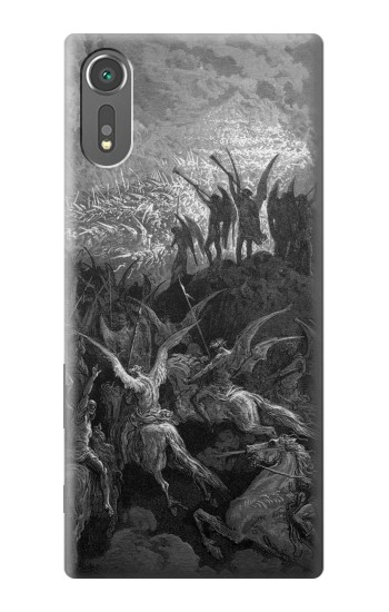 Printed Gustave Dore Paradise Lost Sony Xperia C5 Ultra Case