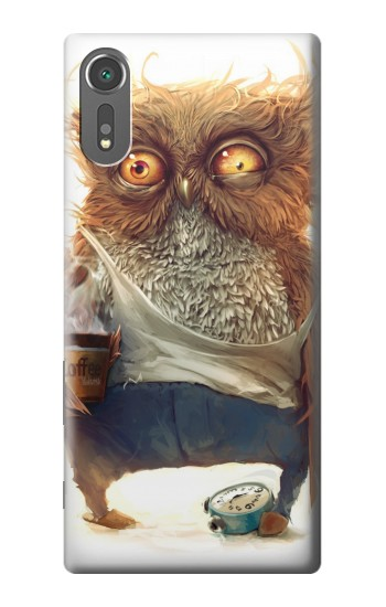 Printed Wake up Owl Sony Xperia C5 Ultra Case