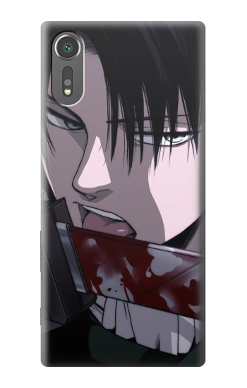 Printed Attack on Titan Rivaille Levi Sony Xperia C5 Ultra Case