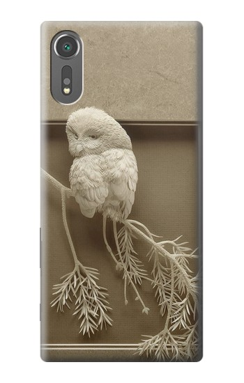 Printed Paper Sculpture Owl Sony Xperia C5 Ultra Case