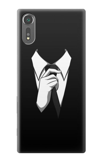 Printed Anonymous Man in Black Suit Sony Xperia C5 Ultra Case
