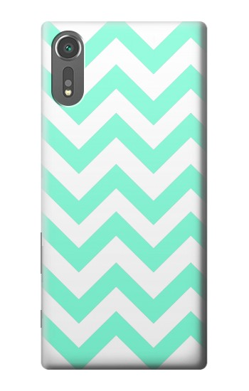 Printed Mint Chevron Zigzag Sony Xperia C5 Ultra Case