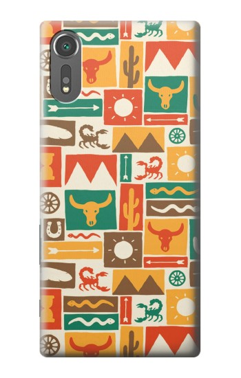 Printed Western Pattern Sony Xperia C5 Ultra Case