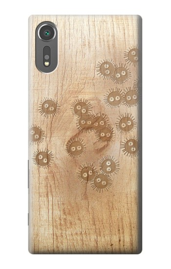 Printed Spirited Away Wood Art Graphic Printed Sony Xperia C5 Ultra Case
