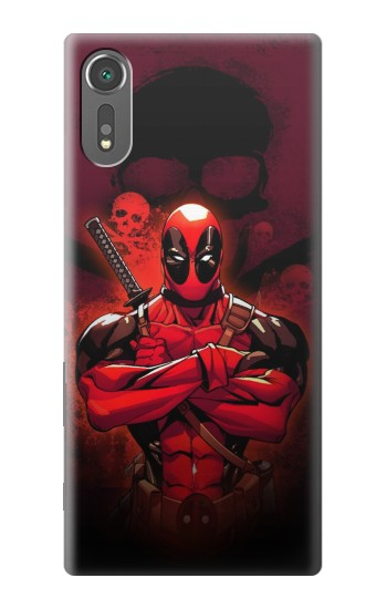 Printed Deadpool Skull Sony Xperia C5 Ultra Case
