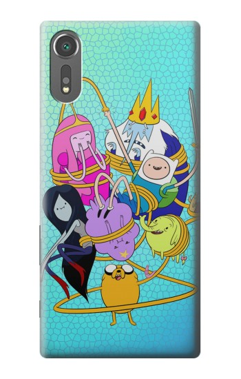 Printed Adventure Time Sony Xperia C5 Ultra Case